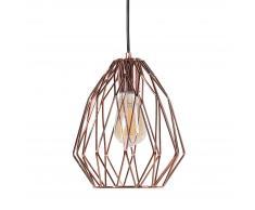 Lampada da soffitto in metallo color rame MAGRA