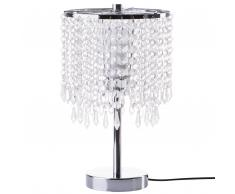 Lampada da tavolo argento 36cm AROS