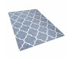 Tappeto rettangolare azzurro - Tappeto moderno di design - 160x230 cm - YALOVA