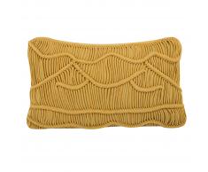 Cuscino decorativo giallo 30x50cm KIRIS
