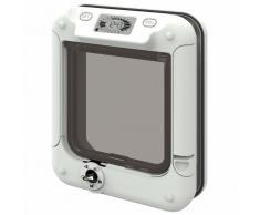 Gattaiola Cat Mate con timer - Adattatore per pareti e porte a vetri
