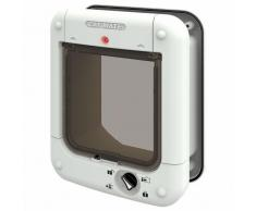 Gattaiola Cat Mate con microchip 360W - Adattatore per pareti e porte a vetri (361W)