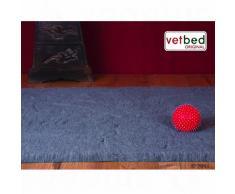 Coperta per gatti Vetbed® Premium grigia - L100 x P75 cm
