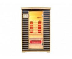 Unique Sauna a infrarossi 2 posti Wengé ANGEL II