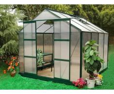 Unique Serra da giardino in policarbonato da 7,5 m² GREENEA II