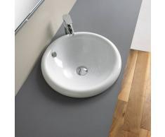 Ceramica Althea NOGO - Lavabo incasso cm 43x43