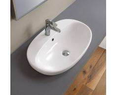 Ceramica Althea FLY - Lavabo incasso cm 66x42