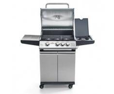Barbecue a gas da esterni SR 3 zone di cottura con comandi separati Modello BBQ X3