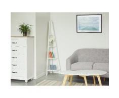 Scaffale in legno bianco - MOBILE SOLO
