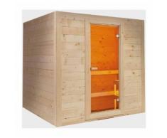 Sauna finlandese in abete rosso massello per 6 o 8 persone Islanda | 6 posti - VB ITALIA