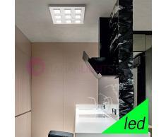 Perenz Srl Kendo Plafoniera Led Con 9 Moduli Orientabili L.50 Design Moderno