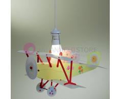 Linea Zero Illuminazione Orsetti Biplano Lampadario A Sospensione Cameretta Bimbi