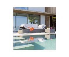 Divano relax Catalana Grigio - 4 posti