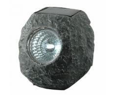 Pietra decorativa solare a LED