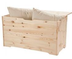 Pircher Cassapanca apribile in legno non verniciato