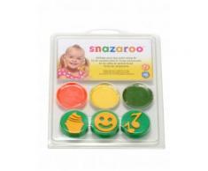 Mini kit trucco con timbri speciale compleanno Snazaroo Taglia Unica