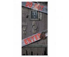 Decorazione per porta Do not Enter Halloween Taglia Unica