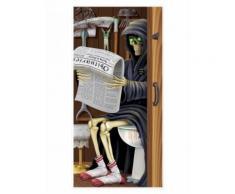 Decorazione per porta Morte Halloween 76 x 152 cm Taglia Unica