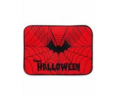 Zerbino luminoso e sonoro con ragnatela Halloween Taglia Unica