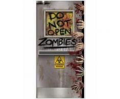 Decorazione per porta laboratorio zombie Halloween Taglia Unica