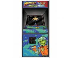 Decorazione Arcade Game anni 80 per porta Taglia Unica
