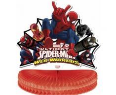 Decorazione centro tavola Spiderman Taglia Unica