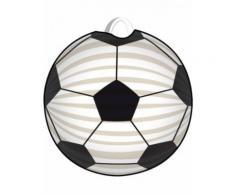 Lanterna pallone da calcio bianco e nero Taglia Unica