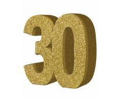 Decorazione per 30 anni di compleanno Taglia Unica