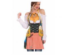 Grembiule bavarese per donna Taglia Unica