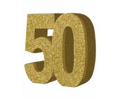 Decorazione per il 50° compleanno Taglia Unica