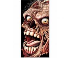 Decorazione da porta Zombie Halloween Taglia Unica
