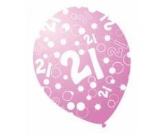 Palloncini compleanno rosa