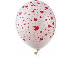 50 palloncini cuore