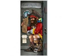 Decorazione per porta Pirata Taglia Unica