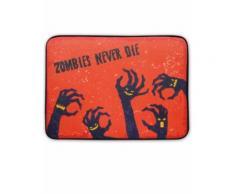 Zerbino luminoso e sonoro con zombie halloween Taglia Unica