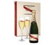 Champagne Mumm - Cordon Rouge - Cofanetto 2 Flute