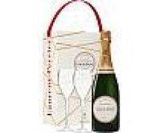 Champagne Laurent Perrier - La Cuvee - En Cofanetto Regalo 2 Bicchieri