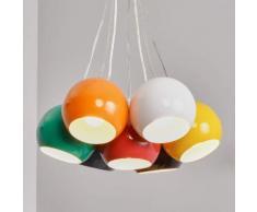 Lampada sferica a sospensione LED Pepa, 7 lampade
