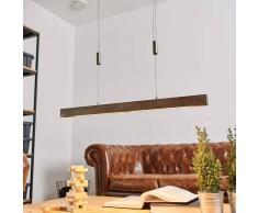 Lampenwelt.com Lampada a sospensione LED Nora in legno, 78 cm