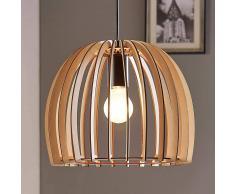Lampenwelt.com Bela - lampada a sospensione in legno
