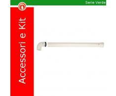 Immergas 3.015254 Kit Orizzontale Tiraggio Forzato 80 Per Camino Verde