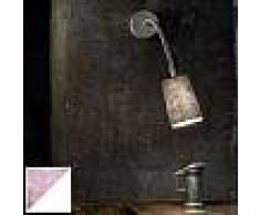 ines artdesign Abat-jour Paint A Stripe - Stripe Viola/White