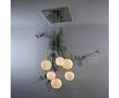 ines artdesign Lampade a sospensione Sei lune - Nebulite