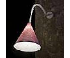ines artdesign Abat-jour Jazz A Stripe - Stripe Blu/Bianco