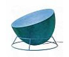ines artdesign Lampada da terra H2O F - Blu