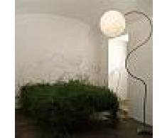 ines artdesign Lampada da salone Luna Piantana - Nebulite