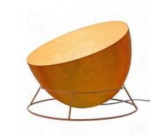 ines artdesign Lampada da terra H2O F - Arancione