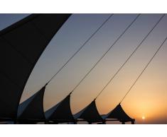 Quadro Geometrie al tramonto