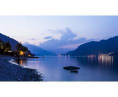 Quadro Sulle rive del lago di Como,