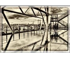 Quadro Vista dal Centro Georges Pompidou parigi